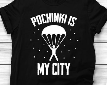 94b418ec02 Pochinki Is My City T-Shirt - Funny Pubg Shirt - Pubg Player Birthday Gift  Men Women Kids Girls And Boys - Pochinki t shirt Pubg Party Tee