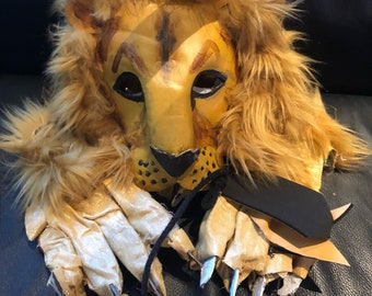 f2a2facdd Lion Mask and Costume