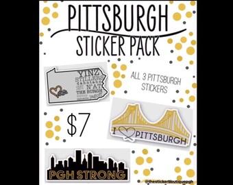b1fcfff1d2b Pittsburgh Sticker Pack