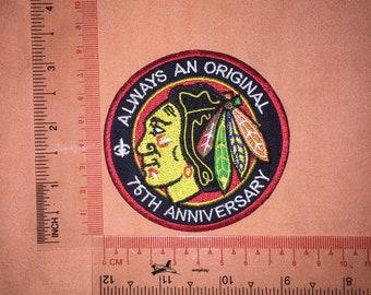 f30f481fb0e Iron Patch NHL Chicago Blackhawks
