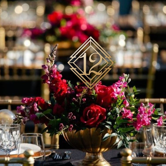 Surprising Modern Table Numbers Wedding Centerpieces Wedding Decor Winter Wedding Decor Please Send Your Phone Number In The Note To The Seller Download Free Architecture Designs Remcamadebymaigaardcom