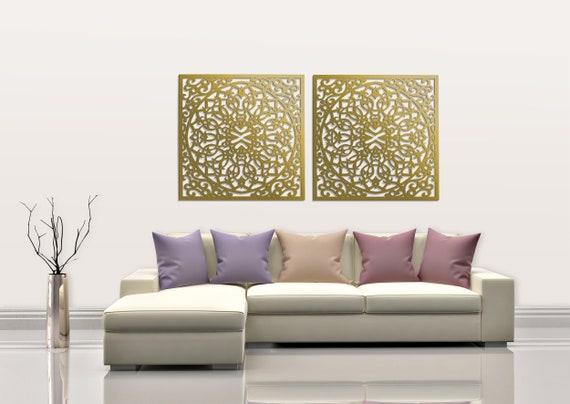 Mur bois élégant 3D art décor, panneau de marocain, ajouré décoration  murale, photo d'ornement, salle de séjour, panneau mural en bois décoratif,  idée ...