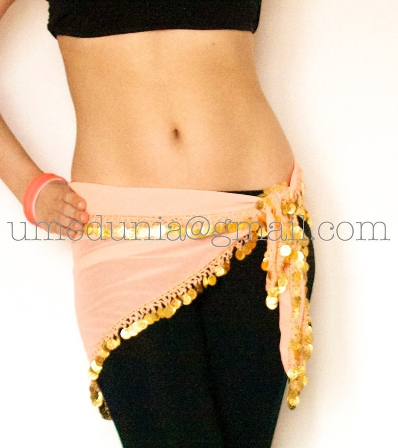 High quality brass coins belts for belly dancing gold feathers inspired in flamingo class training show stage traditional belly dance belt