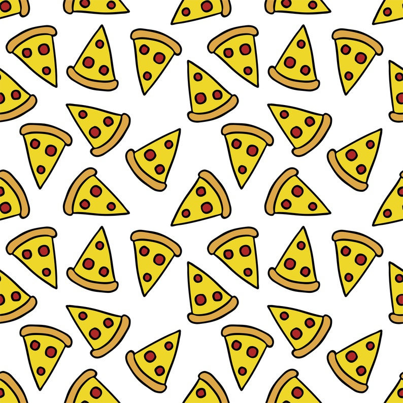 Funny Wrapping Paper  Pizza image 0