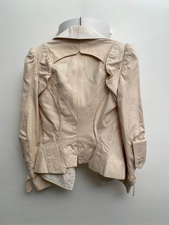 Junya Watanabe Commes des Garçons beige cotton den