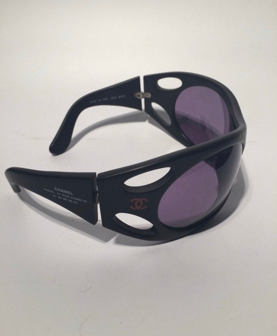 Chanel vintage mask sunglasses from 90s Rare