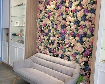 Flower Backdrop Wall For Wedding Arrangement Birthday Party Decor Floral Wall Event Baby Bridal Shower Photography Background Panels 40*60cm