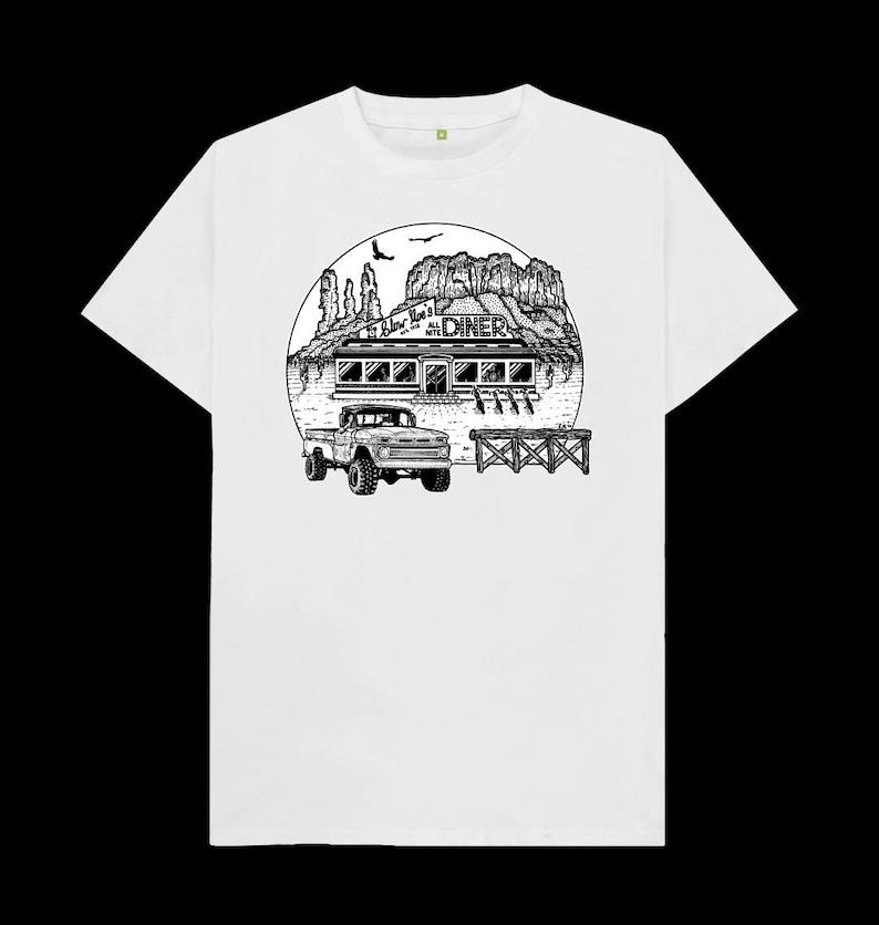 Truck n/' Chopper Desert Diner T-Shirt