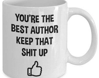 Author Gifts Mug Birthday Christmas Gift For Idea Writer