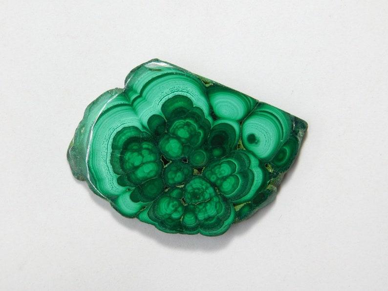 Natural Malachite Slice Cabochon Malachite Loose Stone Malachite Gemstone Malachite Rough Cabochon Malachite for Jewelry 87 Cts A-2953