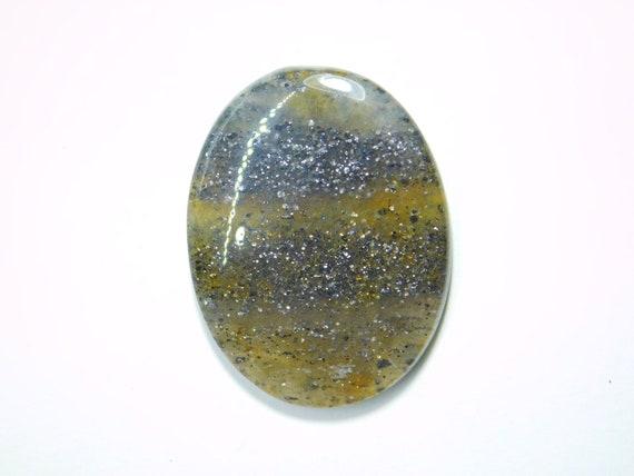 Top Quality! Semi Precious Garden Quartz Gemstone Natural Garden Quartz Cabochon Handmade Hand Polish Loose Stone For Jewelry 9054