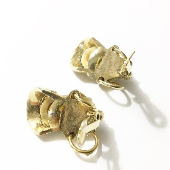 Selro earrings, vtg Selro, Asian earrings, Vtg cl… - image 6