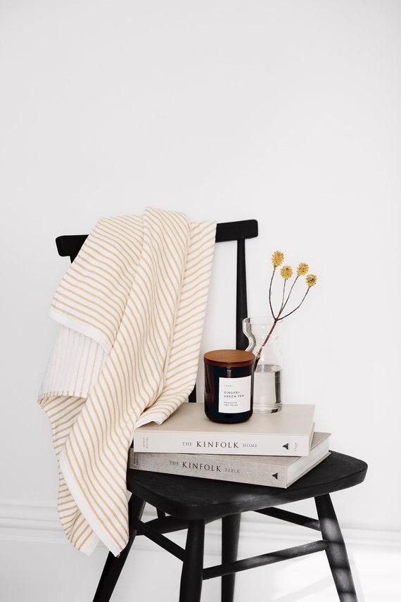 Ginger + Green Tea | Soy wax candle | Clean Fragrance| Luxury | Vegan | 300ml 55 hour burn