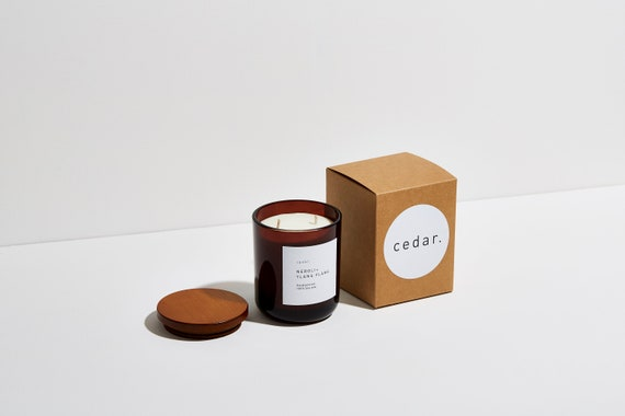 Neroli + Ylang Ylang | Soy wax candle | Floral Fragrance| Luxury | Vegan | 30cl | 55 hour burn