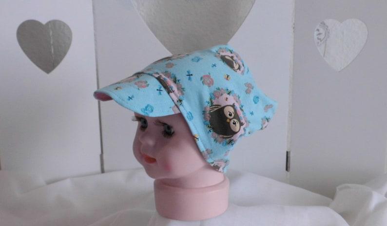 Jersey hat Beanie hat with umbrella in 4 sizes