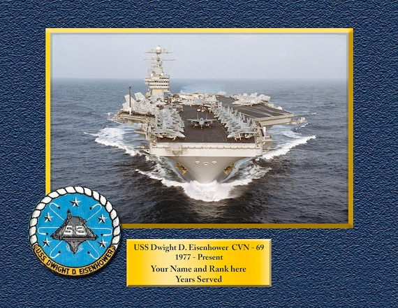 USS COLE DDG67 Custom Personalized 8.5 X 11 Print of US Navy Ships Unique Gift Idea for any Occasions