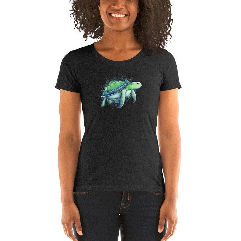 3. Sea Turtle Ladies Shirt