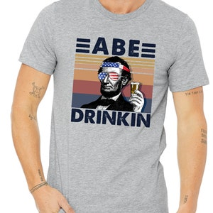 Abraham Drinkin/' Gnarly Lincoln With Shades Funny Parody Drinking Games Dilly Dilly Party Celebration Cool Men/'s Hoodie OSF-0101