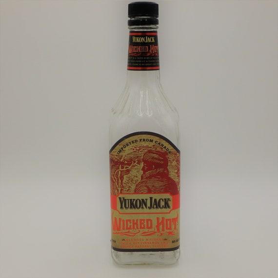 Yukon Jack Whiskey Bottle For Soy Wax Candle Etsy