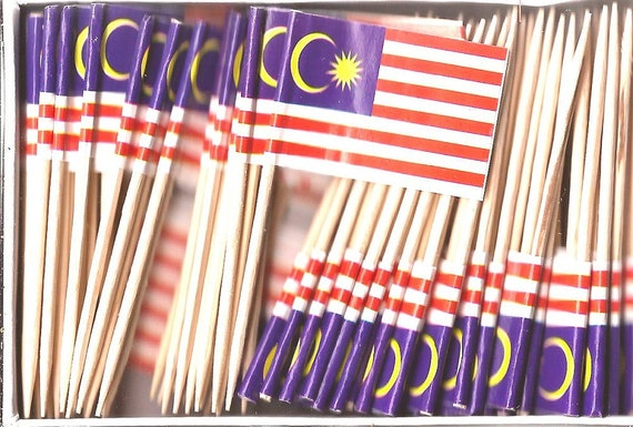 "100 Polish Poland Mini 2.5/"" Flag Appetizer /& Party Decoration Picks Toothpicks"
