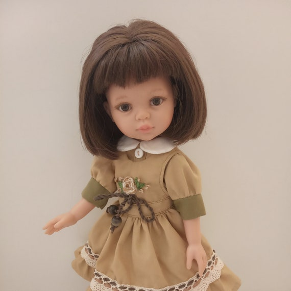Set of yellow clothes for Paola Reina, outfit for a 13-inch doll