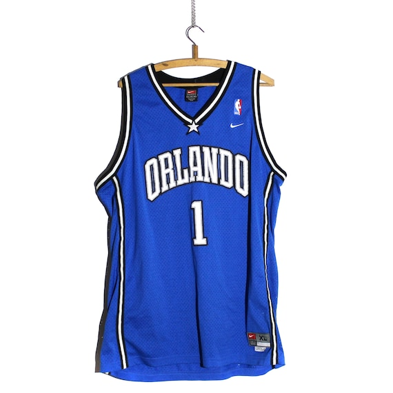 best service 192d4 af64a Vintage Tracy McGrady Orlando Magic Stitched Nike Basketball Jersey