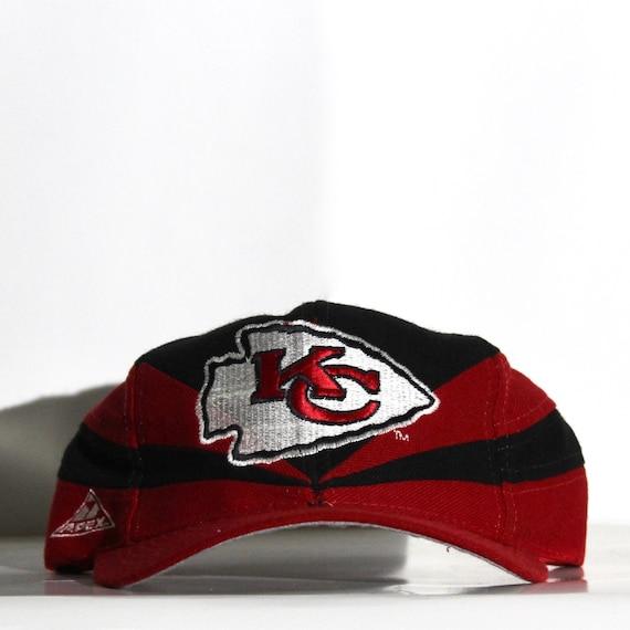Vintage 90s Kansas City Chiefs Apex Snapback Hat
