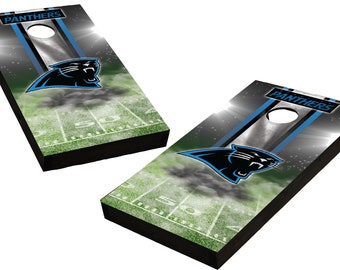 Backyard Games North Carolina Panthers Cornhole Custom Made Boards And Free Bags Cornhole Bag Toss