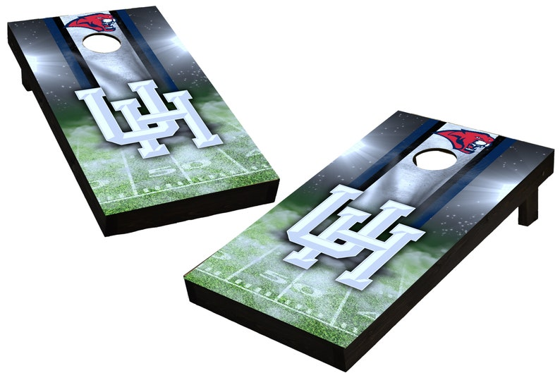 NCAA Houston Cougars Custom Cornhole Boards  Regulation size image 0