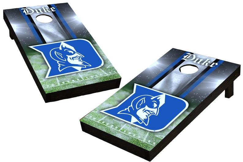 NCAA Duke Blue Devils Custom Cornhole Boards  Regulation size image 0
