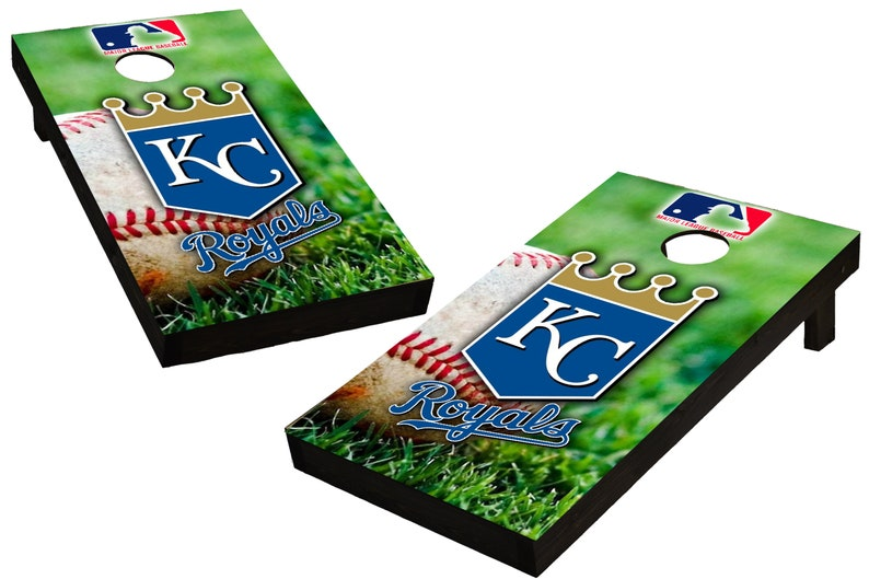 MLB Kansas City Royals  Themed Custom Cornhole Boards  image 0