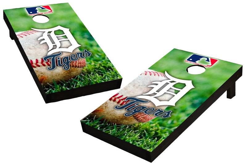 MLB Detroit Tigers  Themed Custom Cornhole Boards  Regulation image 0