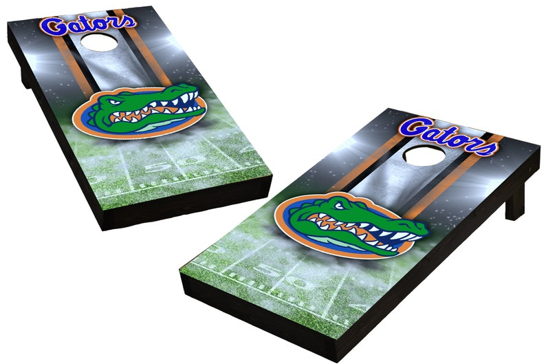 NCAA Florida Gators Custom Cornhole Boards  Regulation size image 0