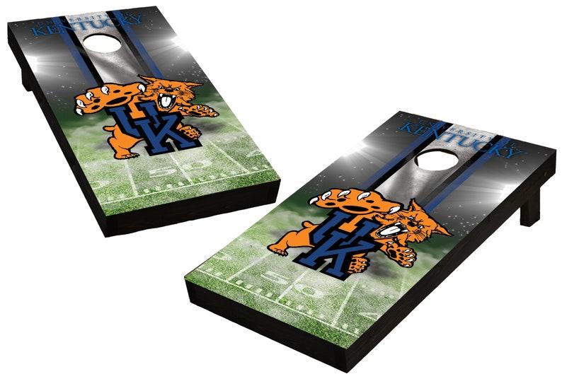 NCAA Kentucky Wildcats Custom Cornhole Boards  Regulation image 0