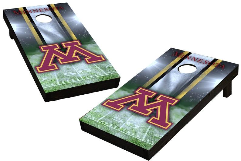 NCAA Minnesota Golden Gophers Custom Cornhole Boards  image 0