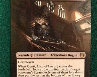 Aetherborn Ascension Deck Gonti MTG Magic Gathering Construct 60 Cards