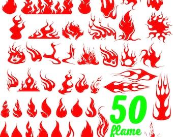 FLAMES SVG, fire svg, flame svg, calgary flames svg, flames clipart, flames vector, flames silhouette, flames cricut file, fire silhouette