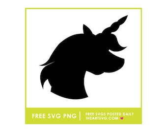 Free unicorn svg | Etsy