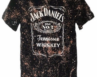 baa1cb5d3f1 Acid Washed Jack Daniels T shirt