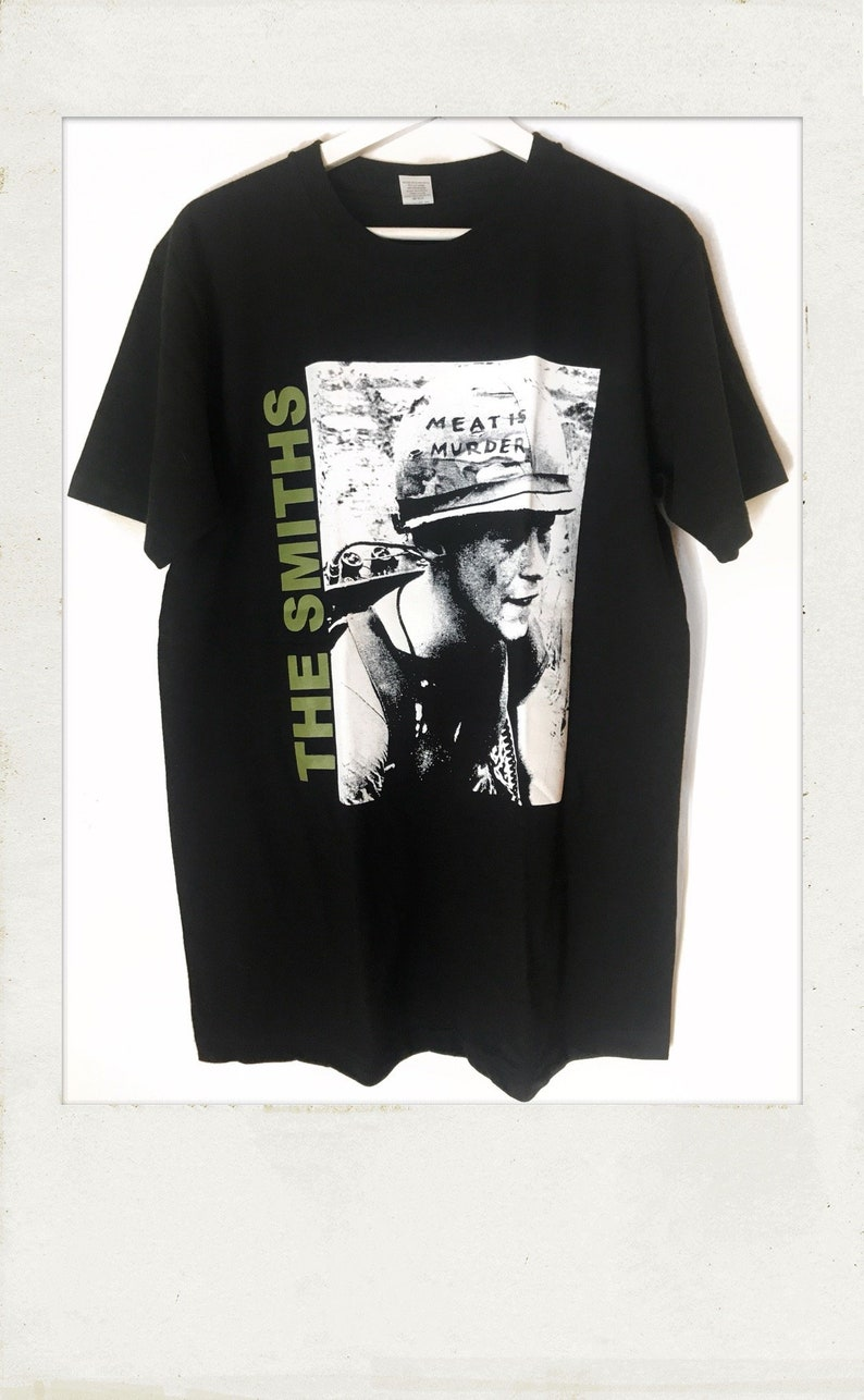 96a9aee74687b7 The Smiths Meat Is Murder T Shirt