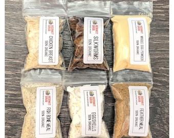 Protein 6 Piece Set #2   Hermit Crab Food