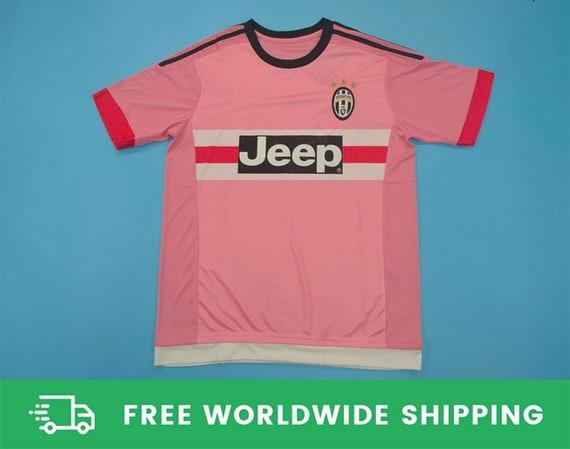Juventus 2015-2016 Away Rose Short-Sleeve Jersey Kit Maglia | Etsy