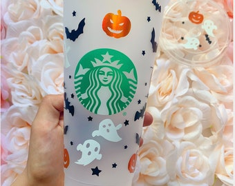 Halloween, Ghost, Witches Brew, Halloween cup, Spooky, Starbucks Cup, Fall, Halloween Wrap, Pumpkin Queen, Personalized item