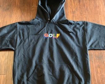 9491a2db6092 Golf embroidered pullover hoodie tyler the creator wang flower boy ofwgkta  frank custom ocean