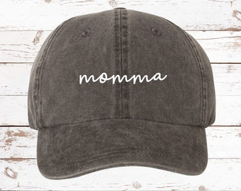 08876a98be Momma Script Dad Hat