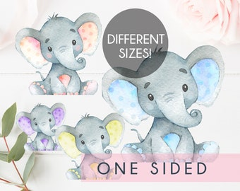 graphic regarding Free Printable Elephant Baby Shower known as Elephant kid shower Etsy