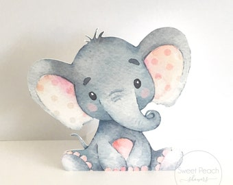 Elephant Centerpiece Etsy