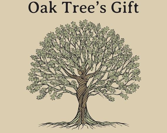 Earth Giant Tree Gift Series - Oak Tree's Gift - Book 1