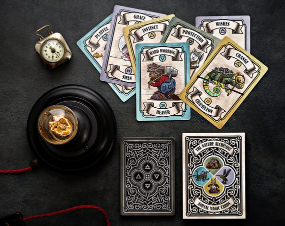 Animal Magic Guidance Cards