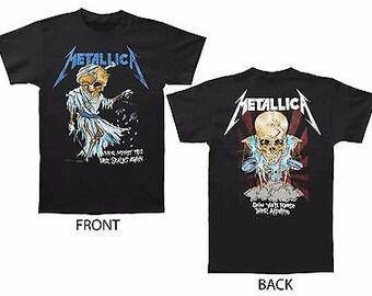 c6eb50e32 Metallica Doris Pushead Justice For All Black T-Shirt